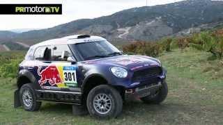 Nasser Al-Attiyah Qatar Rally Team nos presenta su Mini para el Dakar 2015