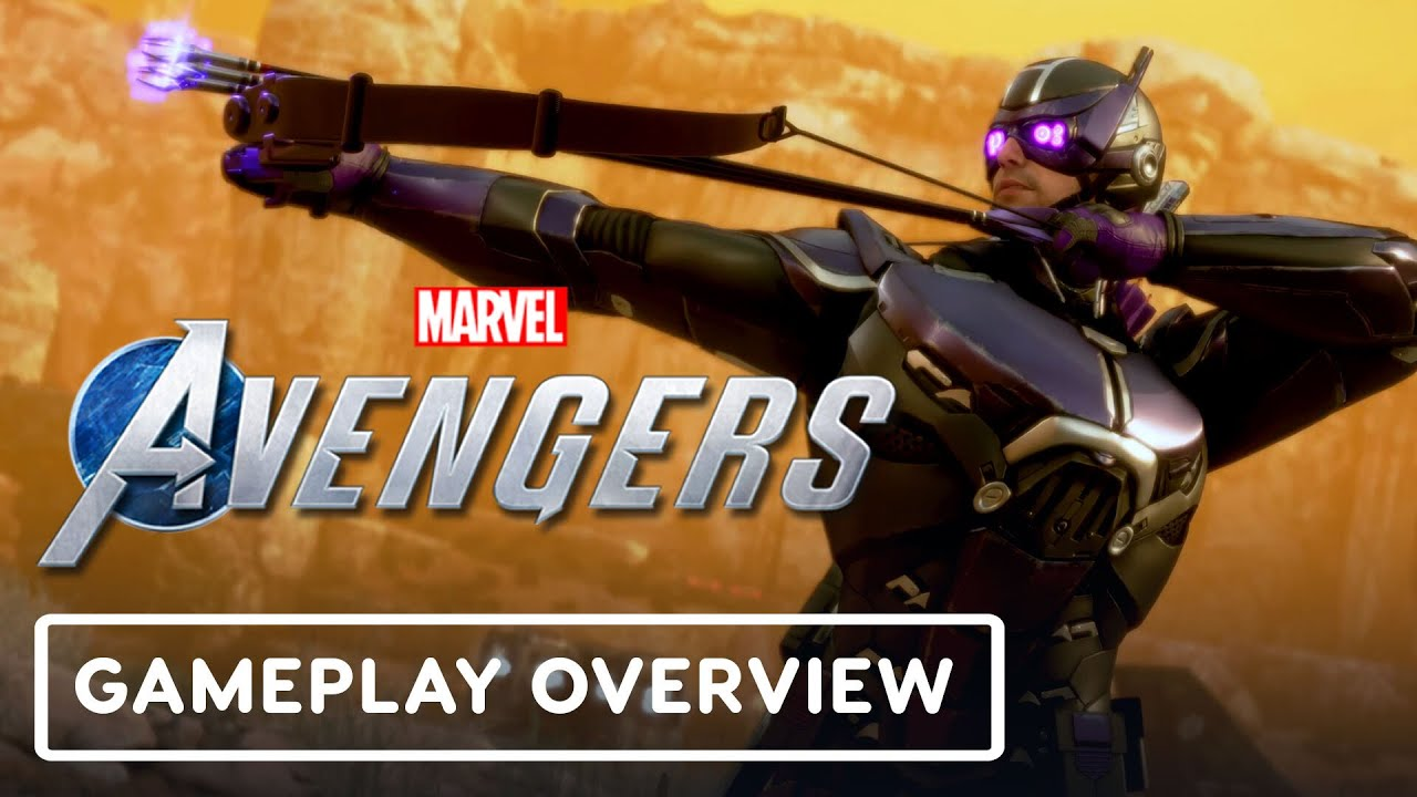 Marvel's Avengers - WAR TABLE - Official Hawkeye Gameplay Overview