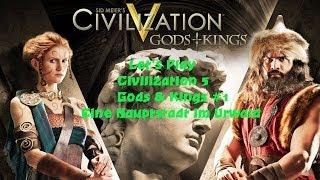 Civilization 5 - Gods and Kings #1 Eine Hauptstadt im Urwald  | Deutsch HD FrostgrimUnlimited