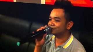 Patrick Chong - Serious and singing expression...