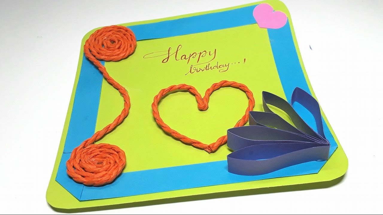 Origami Tutorial How to an Easy Birthday Card YouTube – How to Make Origami Birthday Cards
