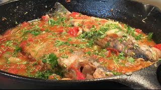 how to make your own salted fish and cooking it ginisang tinabal