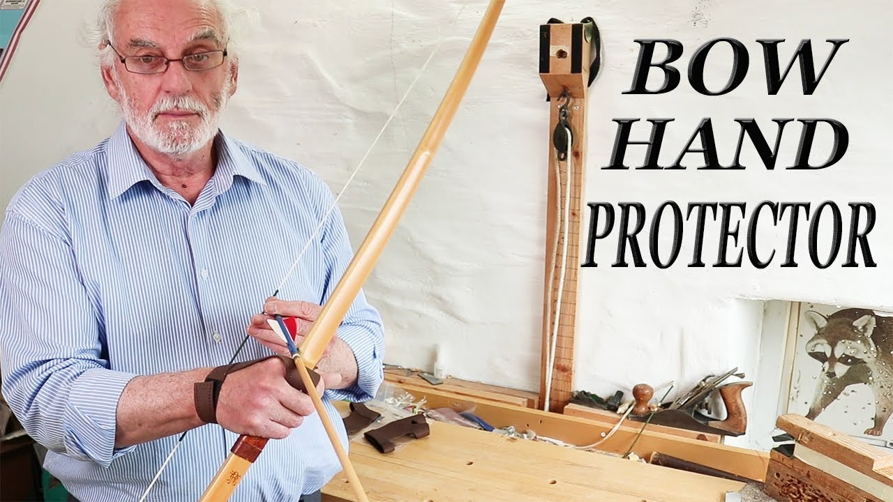 How to protect the top of your hand when using a Longbow
