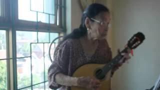 Bài Thánh Ca Buồn -Tác giả Nguyễn Vũ - Mandolin Việt Dung