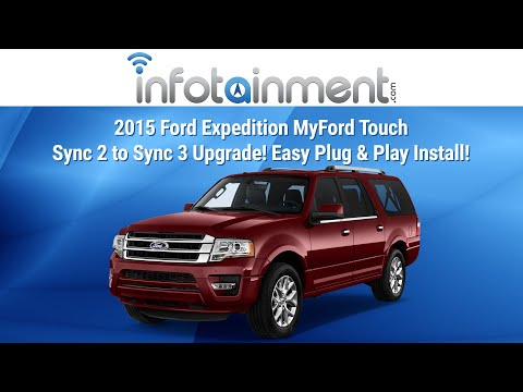 2015 Ford Expedition MyFord Touch Sync 2 to Sync 3 Upgrade! Easy Plug &  Play Install!