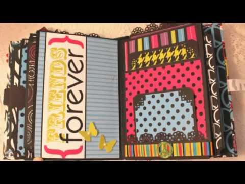 Lol Girlie Teen Mini Premade Scrapbook Album Youtube
