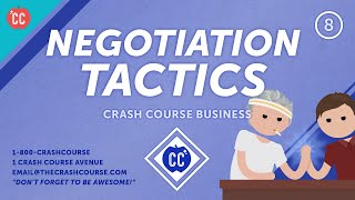 How to Become a Better Negotiator: Crash Course Business - Soft Skills #8