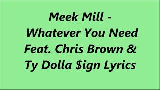 meek mill whatever you need free mp3 download