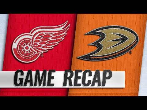 Terry's shootout goal leads Ducks past Red Wings, 3-2
