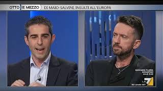 Otto e mezzo - Di Maio - Salvini, insulti all'Europa (Puntata 02/10/2018)