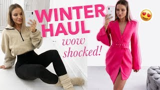 WOW THIS HAUL!! WINTER CLOTHING TRY ON + GIVEAWAY! | I Saw It First ad