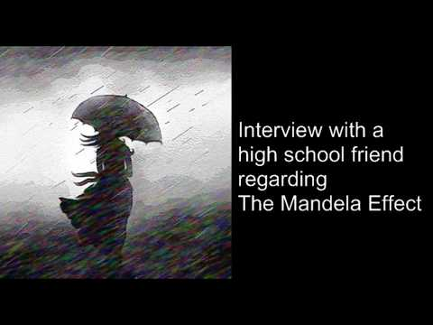 Mandela Effect: Interview with a high school friend