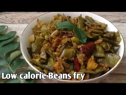 Try This High Fiber, Low Calorie Beans Fry// Lose Weight In A Healthy Way