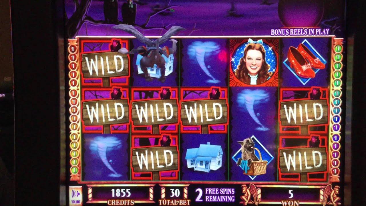 Wizard Of Oz Slot Machine Big Win