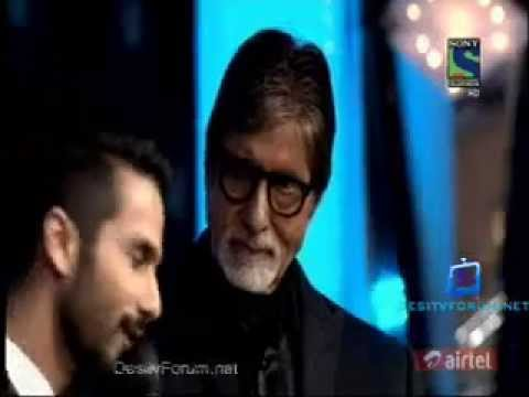 Fimfare Best Actor Award 2014   Shahid Kapoor's speech flv