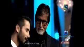 Fimfare Best Actor Award 2014   Shahid Kapoor's speech flv