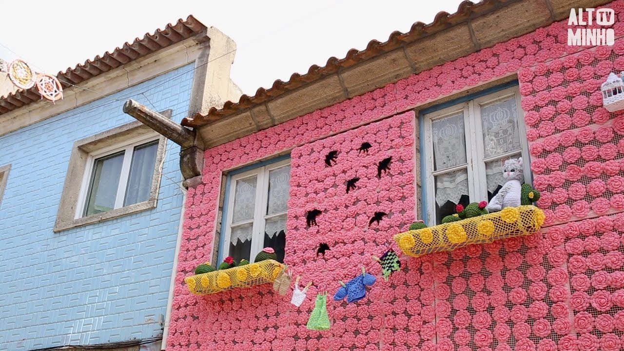 Crochet Invade As Ruas De Vila Nova De Cerveira Durante O Verão Altominho Tv Youtube