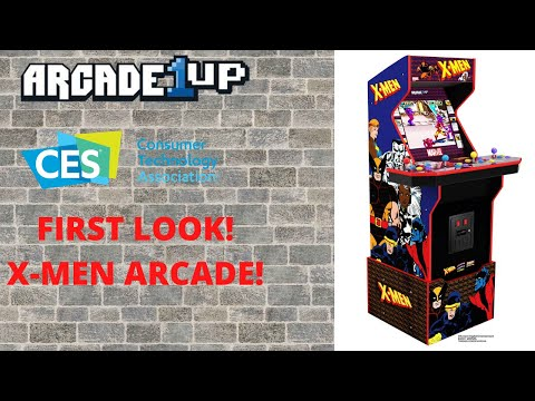 Arcade1up: X-men Arcade Announced and Unveiled from PsykoGamer