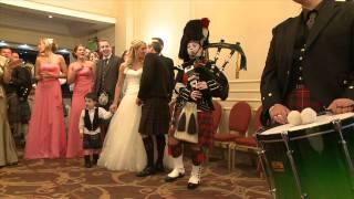 Thistle Piping at Emma and John's Wedding - HD 720p