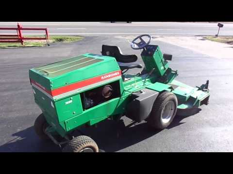 Frontline Ransome 723D Lawn Mower With Kubota Diesel Engine