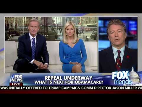 Rand Paul on Storming Out on Paul Ryan for Repealing Obamacare Plan