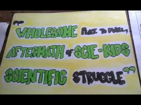 Slogan Writing 2nd Ballesteros District Science Camp