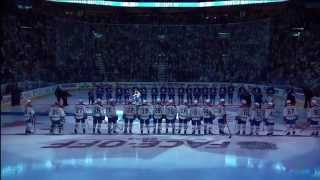 Toronto Maple Leafs Home Opener - Player Introductions - Oct 8th 2014 (HD)