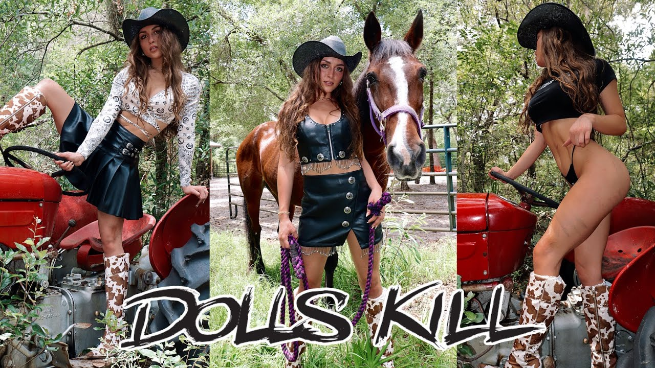DOLLS KILL TAKES US TO THE WILD WEST