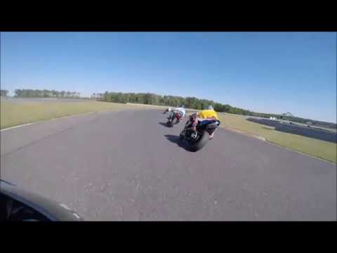 GSXR 600 at New Jersey Motor Speed way