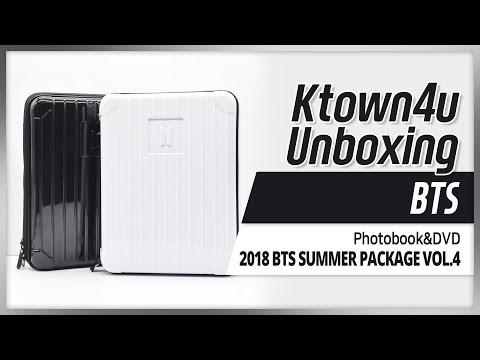 Ktown4u Unboxing] BTS - 2018 SUMMER PACKAGE in SAIPAN 방탄소년단