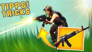 SO spielt man das SCHWERE STURMGEWEHR richtig! - Fortnite Battle Royale Tipps & Tricks