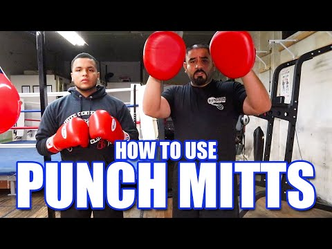 HOW TO USE PUNCH MITTS