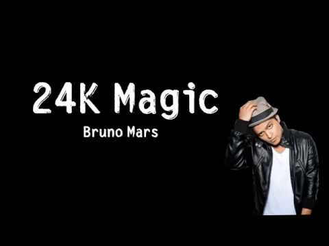 Bruno Mars - 24K Magic - [ Lyrics Song ] HD