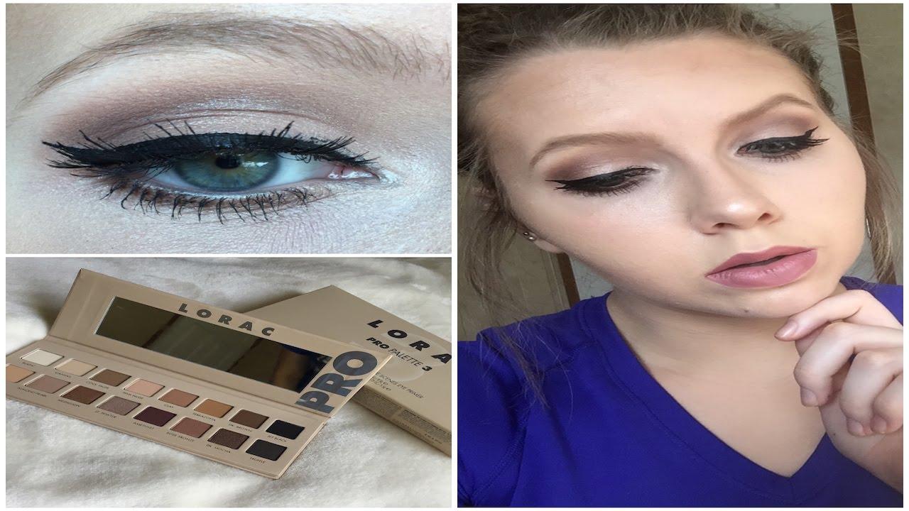 Lorac pro 3 palette neutral makeup tutorial youtube lorac pro 3 palette neutral makeup tutorial baditri Gallery
