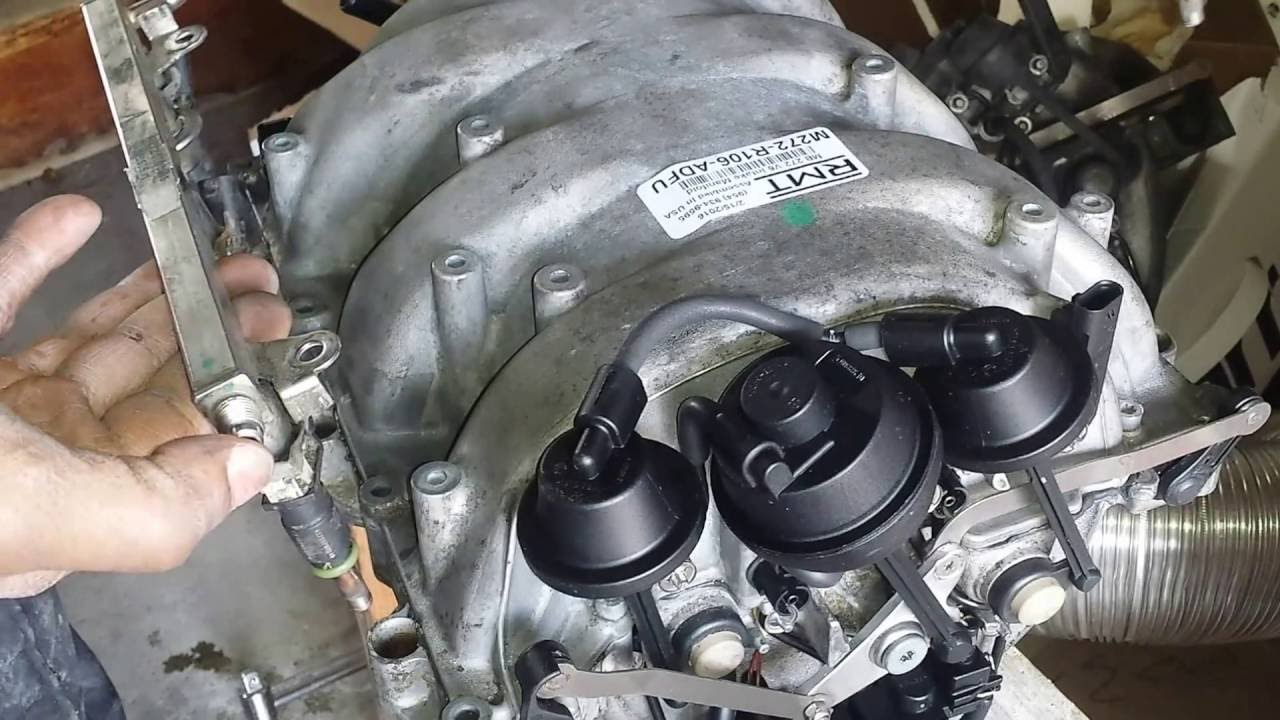 mercedes intake manifold replacement diy hd youtube rh youtube com