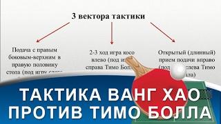 ТАКТИКА МАТЧА WANG HAO - TIMO BOLL (Тактика игры Ванг Хао против Тимо Болл)