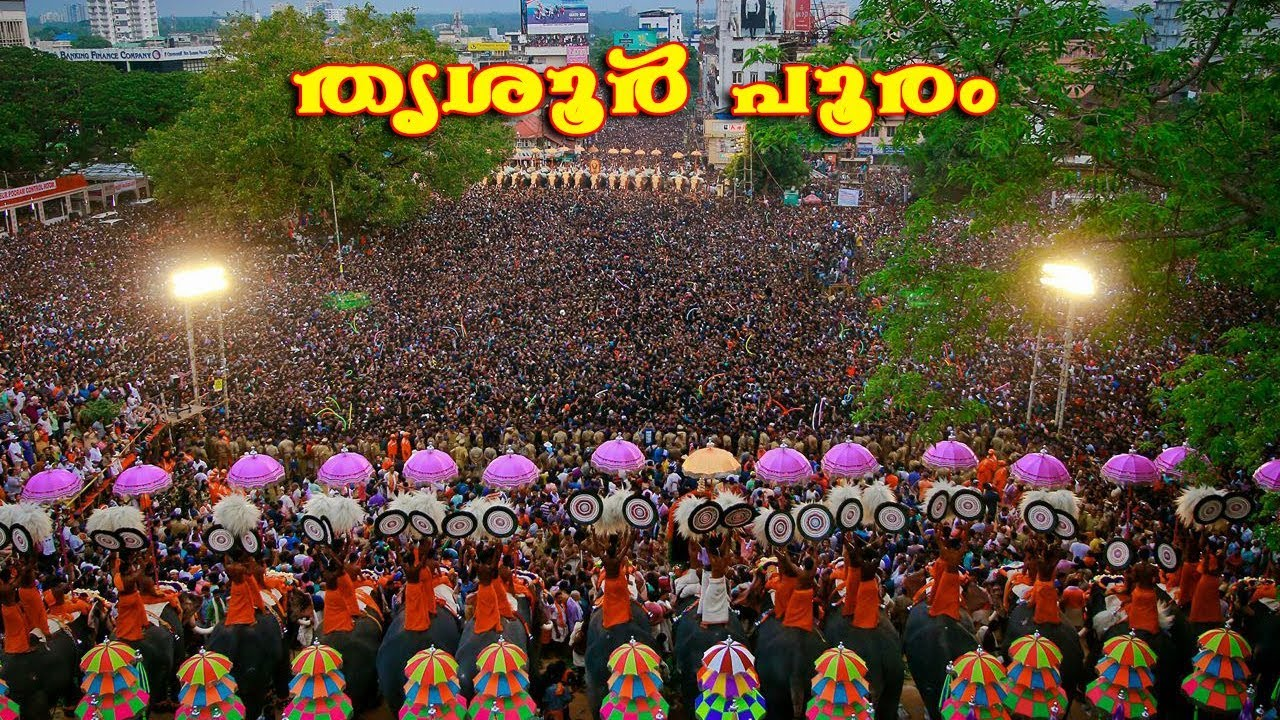 Thrissur Pooram 2017 Date on May 5th