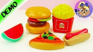 Διάφορα τρόφιμα για παιχνίδι!Φρούτα-Λαχανικά-Γλυκά!🍊🥕🍧