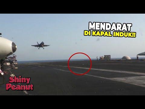 Pantesan Gak Kecebur! Inilah Trik Jenius Pesawat Jet Mendarat Di Kapal Induk