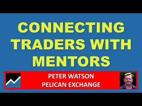 Connecting with Trading Mentors on Pelican - Peter Watson, Pelican Trading