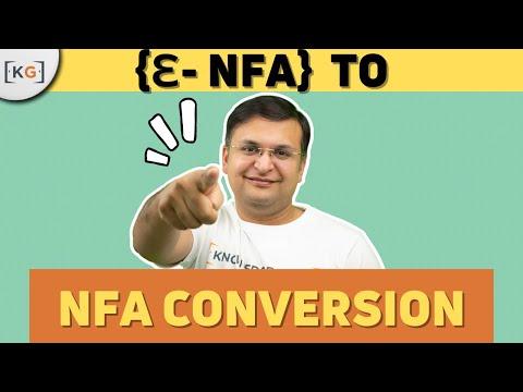 Practise question on Epsilon NFA to NFA conversion in HINDI convert epsilon nfa to nfa part-42