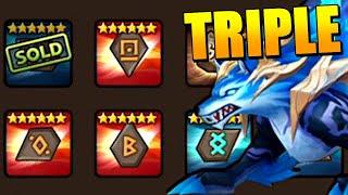 Speed Dragons B12, Necro B12, Punisher's Crypt B10 DONE! Triple Icaru Verde Team in Summoners War