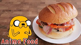 探險活寶 老皮完美三明治 Adventure Time Jake's Perfect Sandwich【RICO】二次元食物具現化EP-128