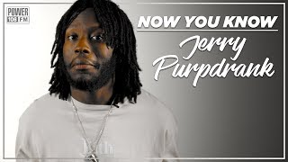 Jerry Purpdrank Talks Coming Up w/ King Bach,
