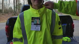 2 minute tailgate sales meeting on FR HI-Vis protective clothing