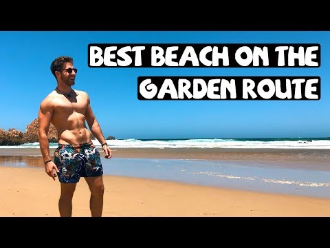 UNREAL DESERTED BEACH WITH CASTLES ON GARDEN ROUTE || TRAVEL SOUTH AFRICA ROAD TRIP