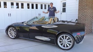 Spyker C8 это самая причудливая экзотическая машина в истории  за $250 000