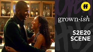 grown-ish Season 2, Episode 20   Aaron & Zoey Have A Moment   Freeform