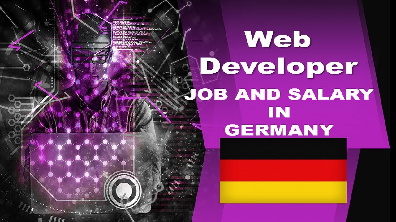 Web Developer Salary In Germany Jobs And Wages In Germany Youtube