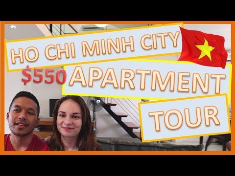 Affordable Penthouse Apartment Tour in Ho Chi Minh City | Vietnam